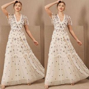 BHLDN x Needle & Thread Prairie Flora Gown